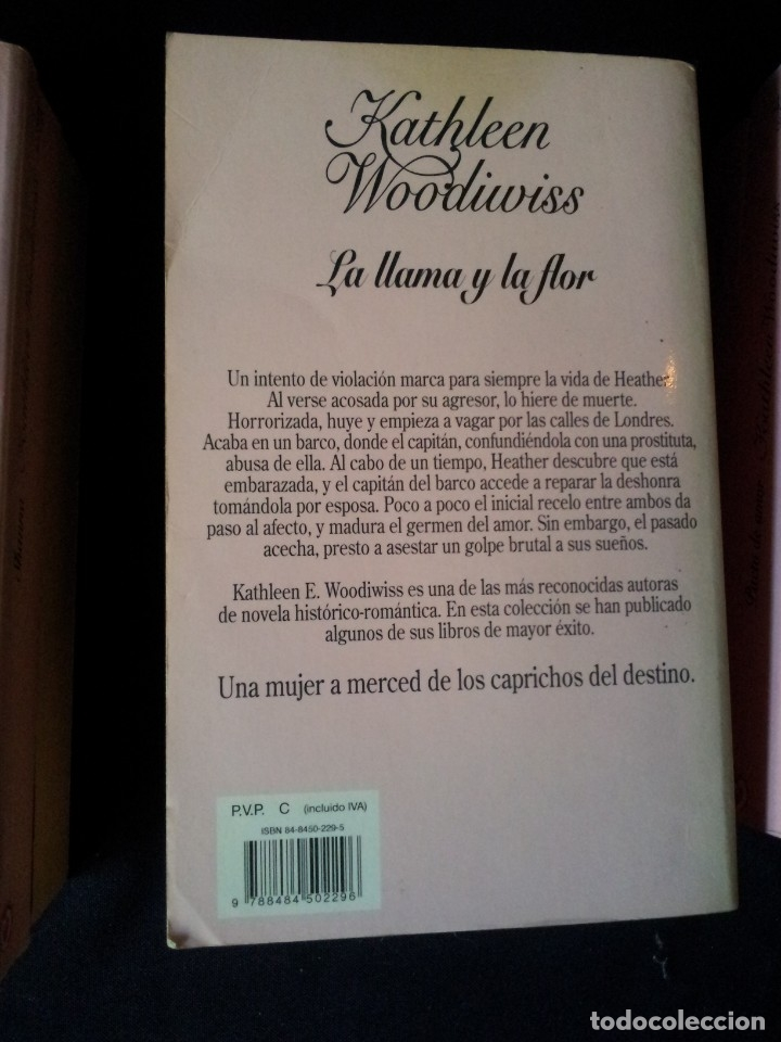 Libros de segunda mano: KATHLEEN WOODIWISS - LOTE DE 9 LIBROS - COLECCION CISNE - Foto 11 - 172732007