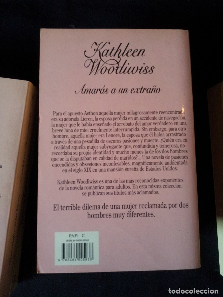 Libros de segunda mano: KATHLEEN WOODIWISS - LOTE DE 9 LIBROS - COLECCION CISNE - Foto 16 - 172732007