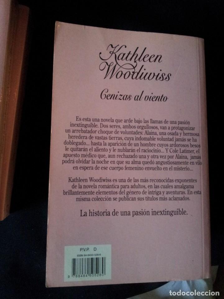 Libros de segunda mano: KATHLEEN WOODIWISS - LOTE DE 9 LIBROS - COLECCION CISNE - Foto 17 - 172732007
