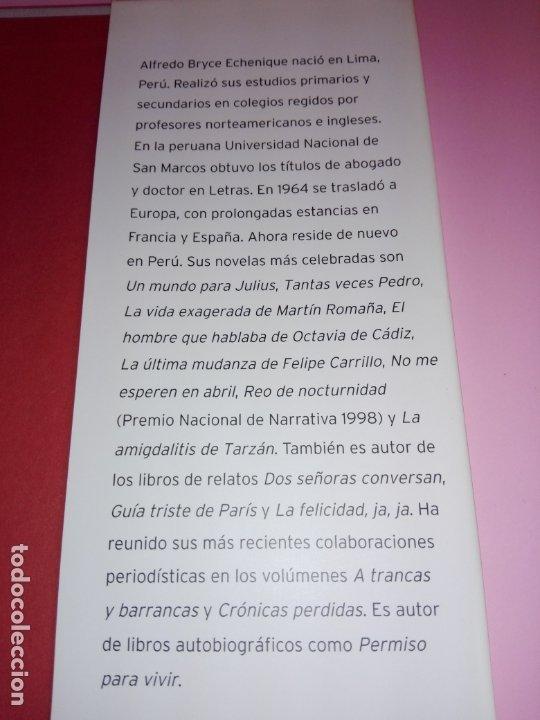 Libros de segunda mano: LIBRO-EL HUERTO DE MI AMADA-ALFREDO BRYCE ECHENIQUE-PREMIO PLANETA 2002-1ªEDICIÓN-2002 - Foto 12 - 173786392