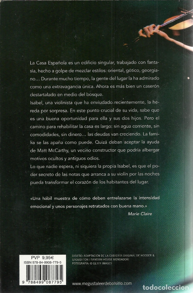 Libros de segunda mano: Jojo Moyes-Música Nocturna.Debolsillo.2011. - Foto 2 - 174141180