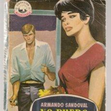Libros de segunda mano: MADREPERLA. Nº 571. NO PUEDO MARTE. ARMANDO SANDOVAL. FOTO: CORNELL BORCHERS. BRUGUERA, 1959(ST/C55). Lote 174179098