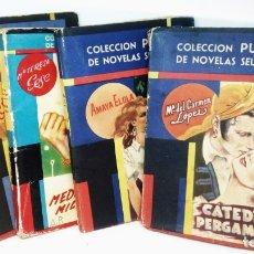 Libros de segunda mano: COLECCION PUEYO DE NOVELAS SELECTAS *** LOTE DE 50 NOVELAS AÑOS 40 / 50. Lote 174315445