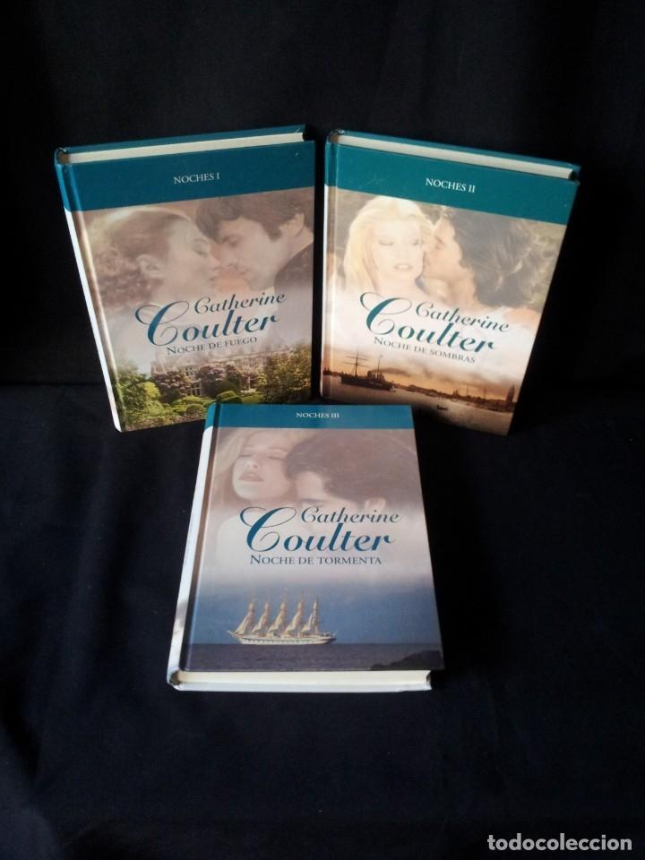 CATHERINE COULTER - NOCHES (3 LIBROS) - COLECCION GRANDES SAGAS DE LA NOVELA ROMANTICA - RBA (Libros de Segunda Mano (posteriores a 1936) - Literatura - Narrativa - Novela Romántica)