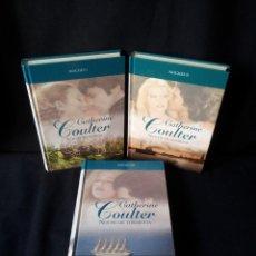 Libros de segunda mano: CATHERINE COULTER - NOCHES (3 LIBROS) - COLECCION GRANDES SAGAS DE LA NOVELA ROMANTICA - RBA. Lote 174515267