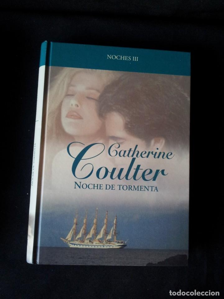 Libros de segunda mano: CATHERINE COULTER - NOCHES (3 LIBROS) - COLECCION GRANDES SAGAS DE LA NOVELA ROMANTICA - RBA - Foto 6 - 174515267