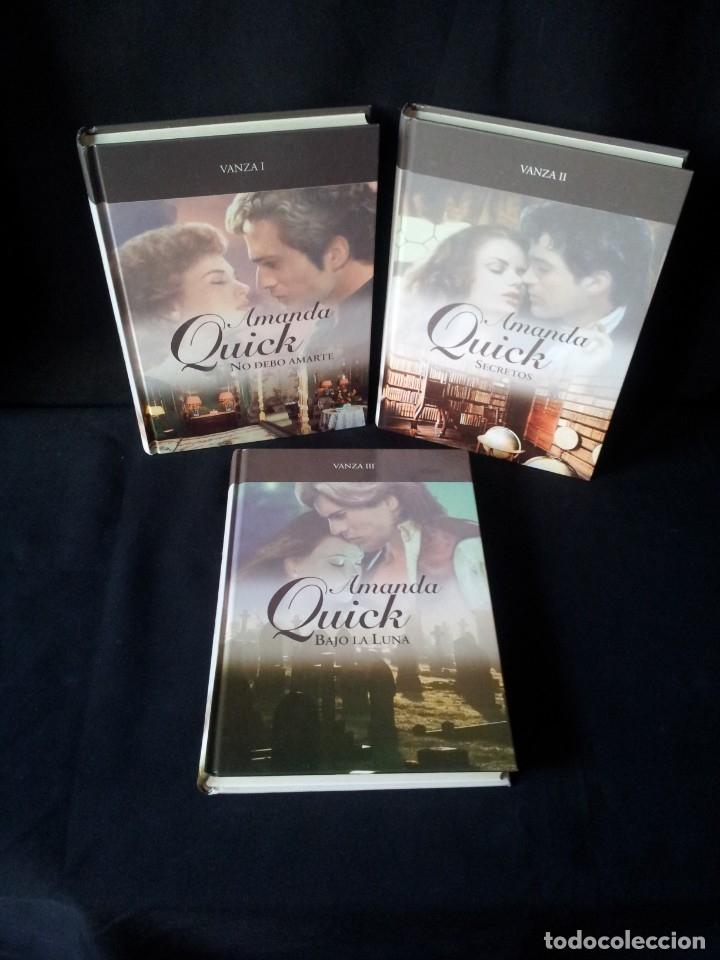 AMANDA QUICK - VANZA (3 LIBROS) - COLECCION GRANDES SAGAS DE LA NOVELA ROMANTICA - RBA (Libros de Segunda Mano (posteriores a 1936) - Literatura - Narrativa - Novela Romántica)