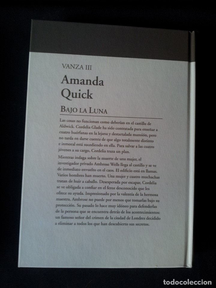 Libros de segunda mano: AMANDA QUICK - VANZA (3 LIBROS) - COLECCION GRANDES SAGAS DE LA NOVELA ROMANTICA - RBA - Foto 7 - 174516158