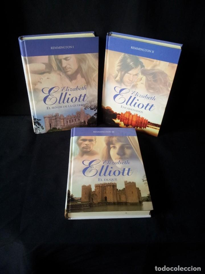 ELIZABETH ELLIOT - REMMINGTON (3 LIBROS) - COLECCION GRANDES SAGAS DE LA NOVELA ROMANTICA - RBA (Libros de Segunda Mano (posteriores a 1936) - Literatura - Narrativa - Novela Romántica)