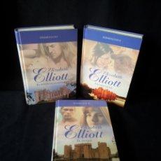 Libros de segunda mano: ELIZABETH ELLIOT - REMMINGTON (3 LIBROS) - COLECCION GRANDES SAGAS DE LA NOVELA ROMANTICA - RBA. Lote 174516358