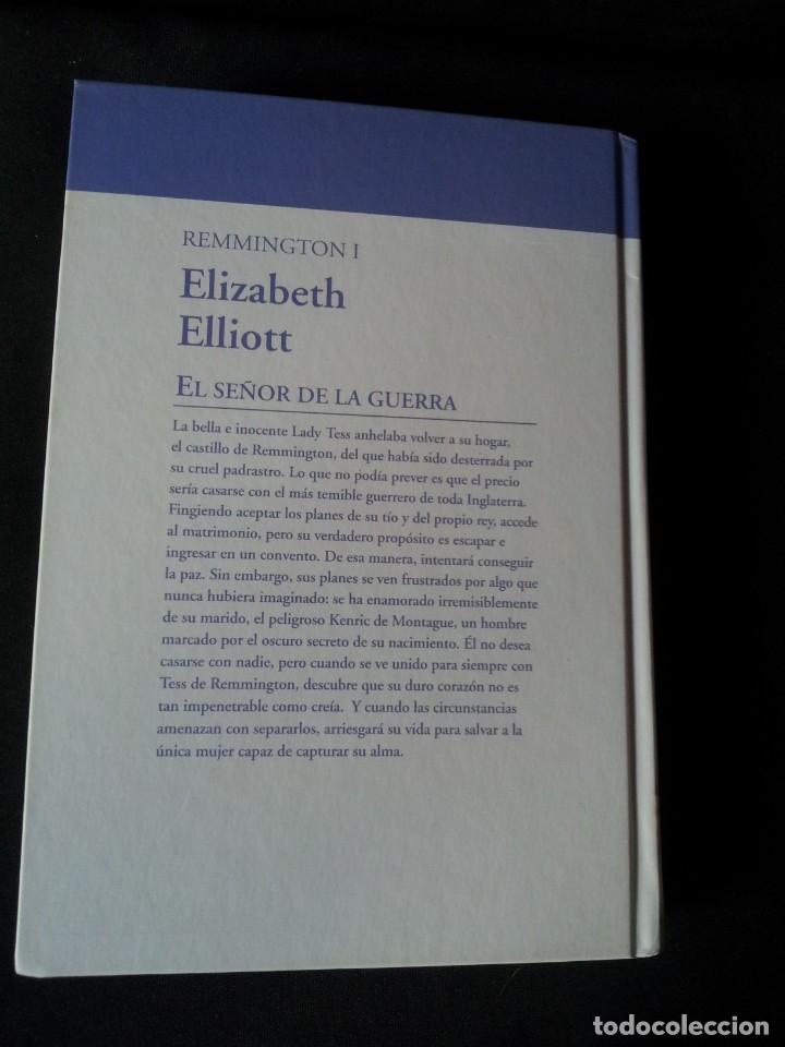 Libros de segunda mano: ELIZABETH ELLIOT - REMMINGTON (3 LIBROS) - COLECCION GRANDES SAGAS DE LA NOVELA ROMANTICA - RBA - Foto 3 - 174516358