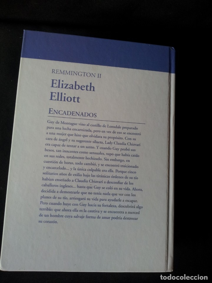 Libros de segunda mano: ELIZABETH ELLIOT - REMMINGTON (3 LIBROS) - COLECCION GRANDES SAGAS DE LA NOVELA ROMANTICA - RBA - Foto 5 - 174516358