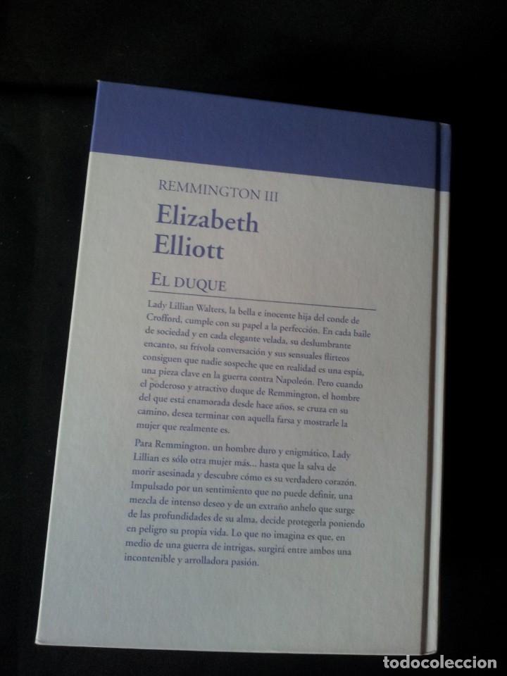 Libros de segunda mano: ELIZABETH ELLIOT - REMMINGTON (3 LIBROS) - COLECCION GRANDES SAGAS DE LA NOVELA ROMANTICA - RBA - Foto 7 - 174516358