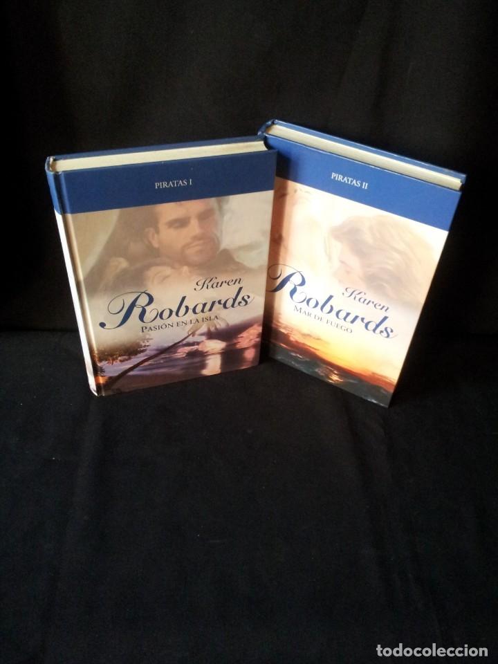 KAREN ROBARDS - PIRATAS (2 LIBROS) - COLECCION GRANDES SAGAS DE LA NOVELA ROMANTICA - RBA (Libros de Segunda Mano (posteriores a 1936) - Literatura - Narrativa - Novela Romántica)
