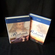 Libros de segunda mano: KAREN ROBARDS - PIRATAS (2 LIBROS) - COLECCION GRANDES SAGAS DE LA NOVELA ROMANTICA - RBA. Lote 174517212