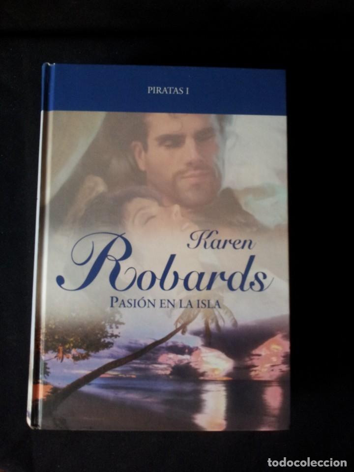 Libros de segunda mano: KAREN ROBARDS - PIRATAS (2 LIBROS) - COLECCION GRANDES SAGAS DE LA NOVELA ROMANTICA - RBA - Foto 2 - 174517212
