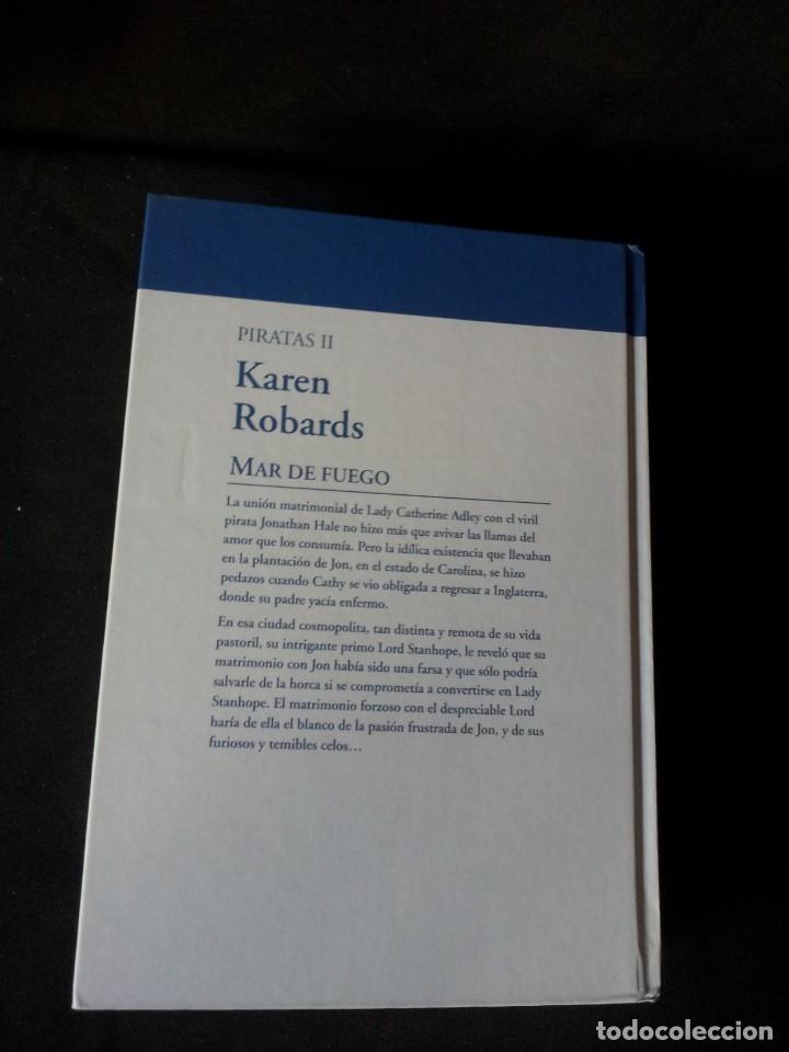 Libros de segunda mano: KAREN ROBARDS - PIRATAS (2 LIBROS) - COLECCION GRANDES SAGAS DE LA NOVELA ROMANTICA - RBA - Foto 5 - 174517212