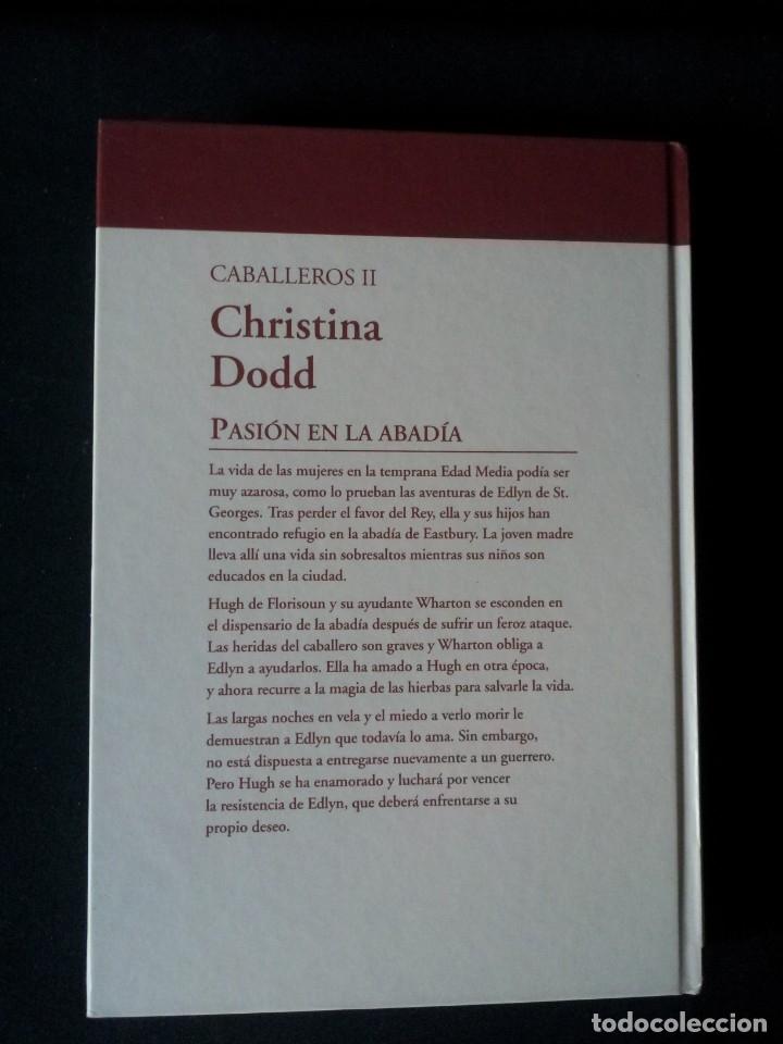 Libros de segunda mano: CHRISTINA DODD - CABALLEROS (2 LIBROS) - COLECCION GRANDES SAGAS DE LA NOVELA ROMANTICA - RBA - Foto 5 - 174535567