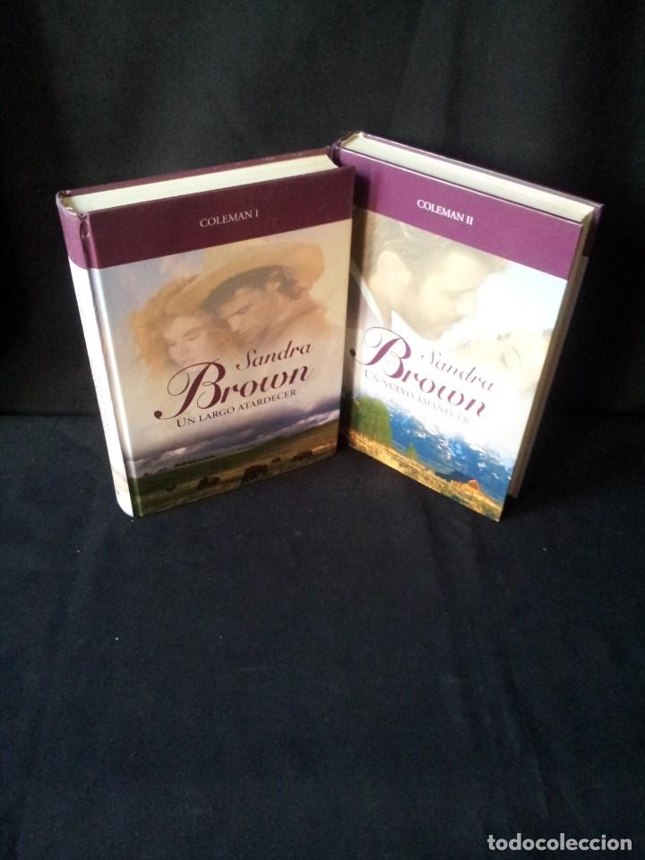 SANDRA BROWN - COLEMAN (2 LIBROS) - COLECCION GRANDES SAGAS DE LA NOVELA ROMANTICA - RBA (Libros de Segunda Mano (posteriores a 1936) - Literatura - Narrativa - Novela Romántica)