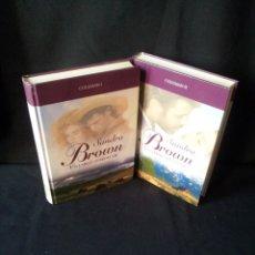 Libros de segunda mano: SANDRA BROWN - COLEMAN (2 LIBROS) - COLECCION GRANDES SAGAS DE LA NOVELA ROMANTICA - RBA. Lote 174535597