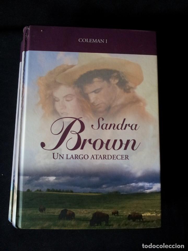 Libros de segunda mano: SANDRA BROWN - COLEMAN (2 LIBROS) - COLECCION GRANDES SAGAS DE LA NOVELA ROMANTICA - RBA - Foto 2 - 174535597