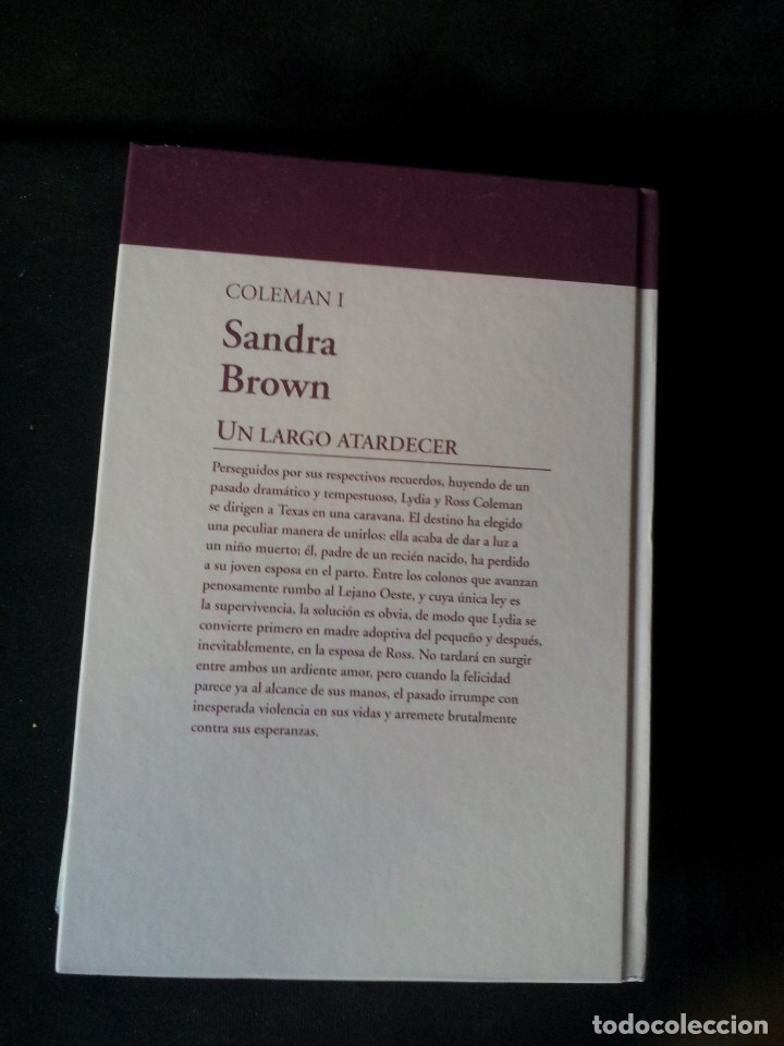 Libros de segunda mano: SANDRA BROWN - COLEMAN (2 LIBROS) - COLECCION GRANDES SAGAS DE LA NOVELA ROMANTICA - RBA - Foto 3 - 174535597