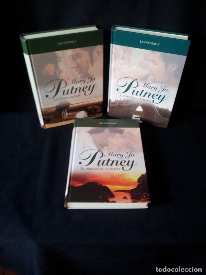 MARY JO PUTNEY - LAS NOVIAS (3 LIBROS) - COLECCION GRANDES SAGAS DE LA NOVELA ROMANTICA - RBA (Libros de Segunda Mano (posteriores a 1936) - Literatura - Narrativa - Novela Romántica)