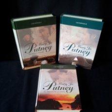 Libros de segunda mano: MARY JO PUTNEY - LAS NOVIAS (3 LIBROS) - COLECCION GRANDES SAGAS DE LA NOVELA ROMANTICA - RBA. Lote 174535617