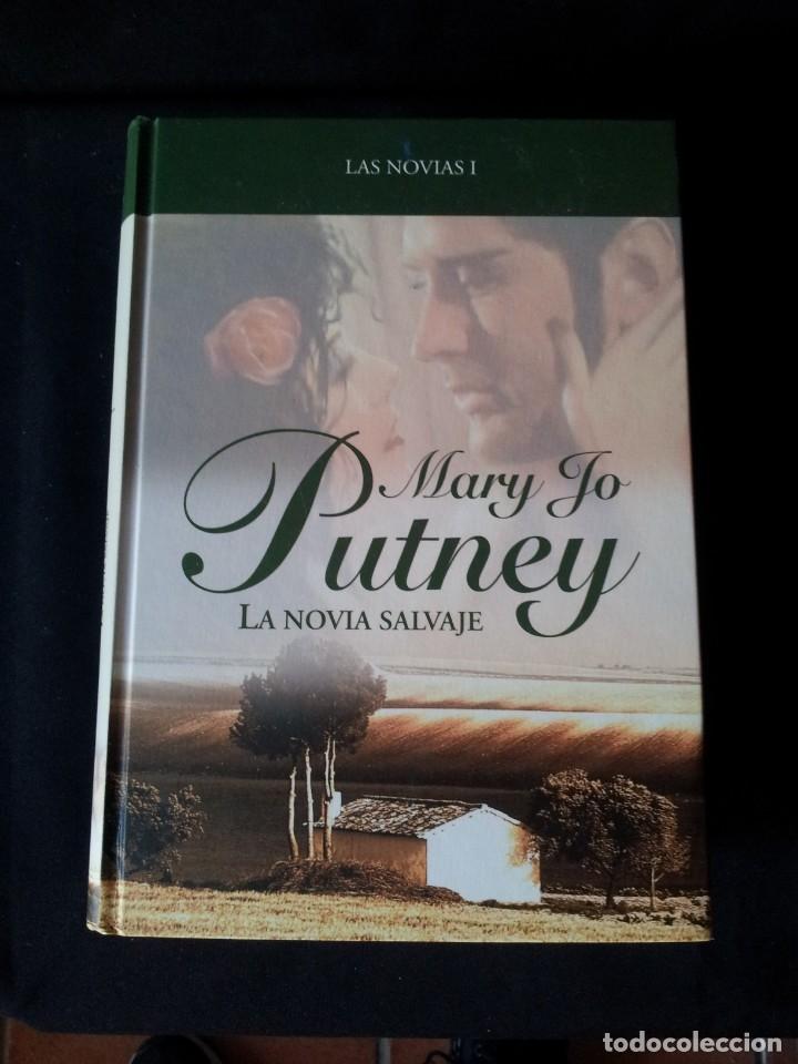Libros de segunda mano: MARY JO PUTNEY - LAS NOVIAS (3 LIBROS) - COLECCION GRANDES SAGAS DE LA NOVELA ROMANTICA - RBA - Foto 2 - 174535617