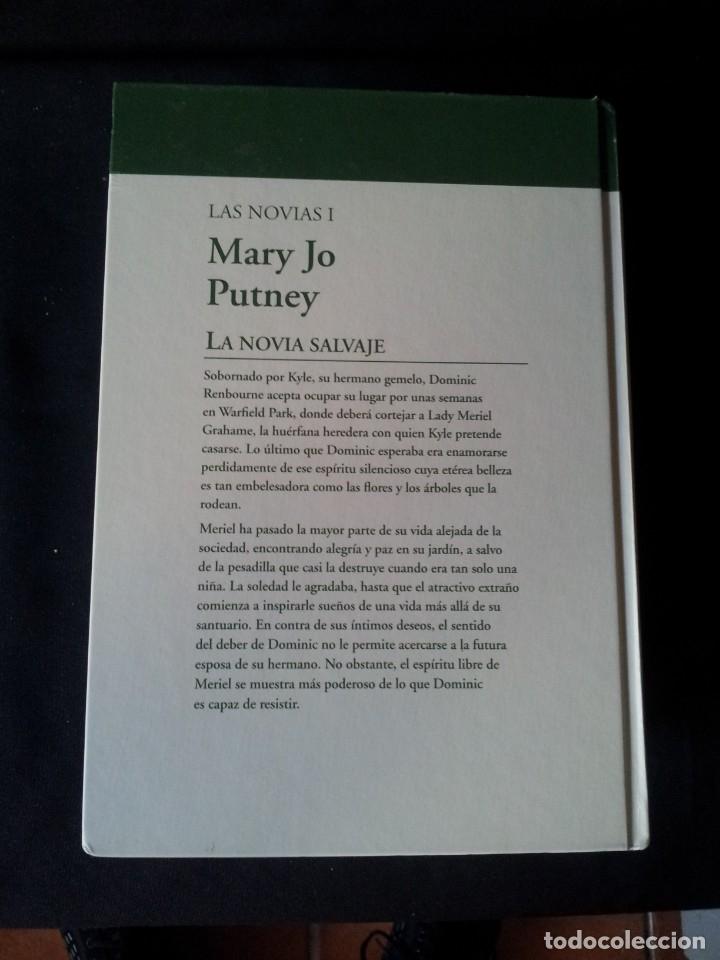 Libros de segunda mano: MARY JO PUTNEY - LAS NOVIAS (3 LIBROS) - COLECCION GRANDES SAGAS DE LA NOVELA ROMANTICA - RBA - Foto 3 - 174535617