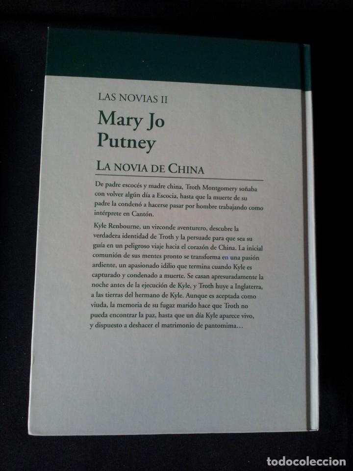 Libros de segunda mano: MARY JO PUTNEY - LAS NOVIAS (3 LIBROS) - COLECCION GRANDES SAGAS DE LA NOVELA ROMANTICA - RBA - Foto 5 - 174535617