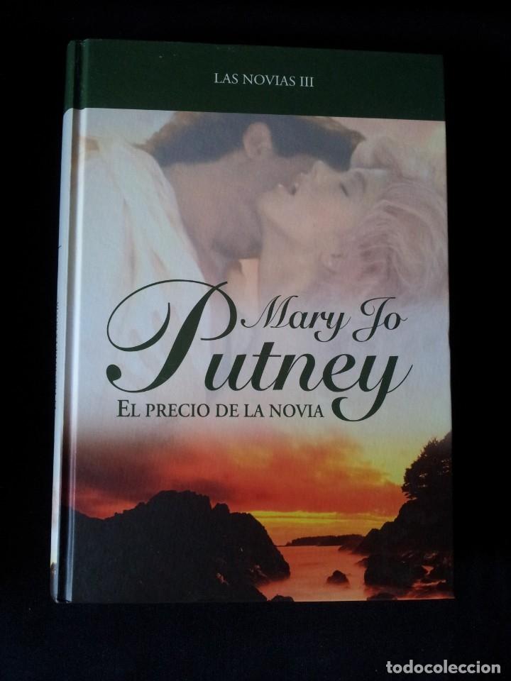 Libros de segunda mano: MARY JO PUTNEY - LAS NOVIAS (3 LIBROS) - COLECCION GRANDES SAGAS DE LA NOVELA ROMANTICA - RBA - Foto 6 - 174535617