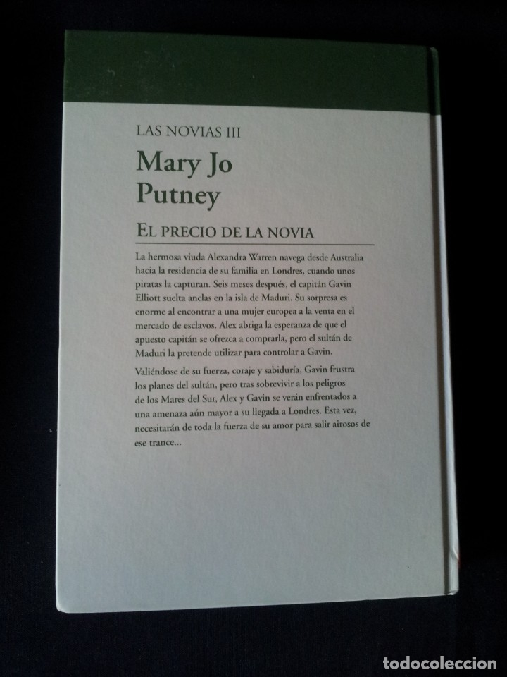 Libros de segunda mano: MARY JO PUTNEY - LAS NOVIAS (3 LIBROS) - COLECCION GRANDES SAGAS DE LA NOVELA ROMANTICA - RBA - Foto 7 - 174535617