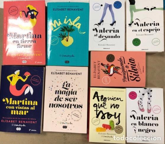 LOTE DE 9 NOVELAS DE ELÍSABET BENAVENT. COMO NUEVAS. TÍTULOS EN DESCRIPCIÓN. (Libros de Segunda Mano (posteriores a 1936) - Literatura - Narrativa - Novela Romántica)