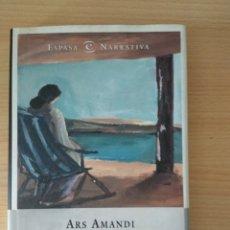 Libros de segunda mano: ARS AMANDI. MILAGROS FRÍAS. Lote 175562632