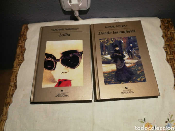 ÁLVARO POMBO DONDE LAS MUJERES Y VLADIMIR NABOKV (Libros de Segunda Mano (posteriores a 1936) - Literatura - Narrativa - Novela Romántica)