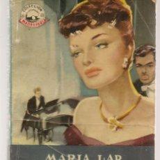 Livres d'occasion: MADREPERLA. Nº 136. LA SEÑORA MARABER. MARÍA LAR. BRUGUERA 1951. (P/D44). Lote 175852087