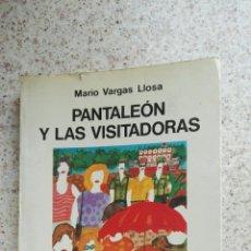 Libros de segunda mano: PANTALEON Y LAS VISITADORAS MARIO VARGAS LLOSA. Lote 175874078