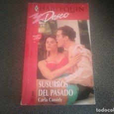 Libros de segunda mano: LIBRO NOVELA DE HARLEQUIN DESEO. SUSURROS DEL PASADO N° 566. Lote 175954608