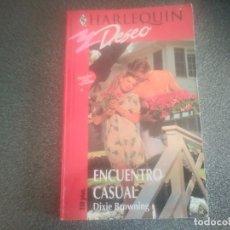 Libros de segunda mano: LIBRO NOVELA DE HARLEQUIN DESEO. ENCUENTRO CASUAL N° 629. Lote 175955207