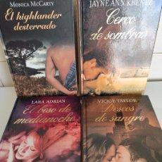 Libros de segunda mano: 4 NOVELAS ACTUALES GENERO ROMANTICO. Lote 176612699