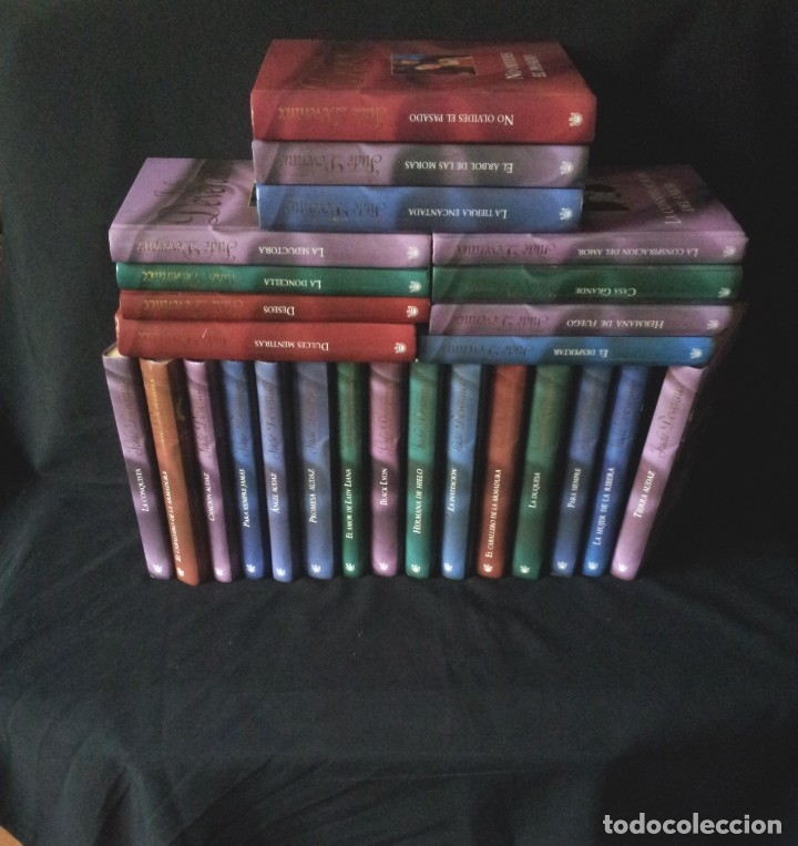 JUDE DEVERAUX - COLECCION DE 29 LIBROS - RBA EDITORES 2006 (Libros de Segunda Mano (posteriores a 1936) - Literatura - Narrativa - Novela Romántica)