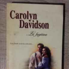 Libros de segunda mano: LA FUGITIVA ** DAVIDSON, CAROLYN. Lote 177021452