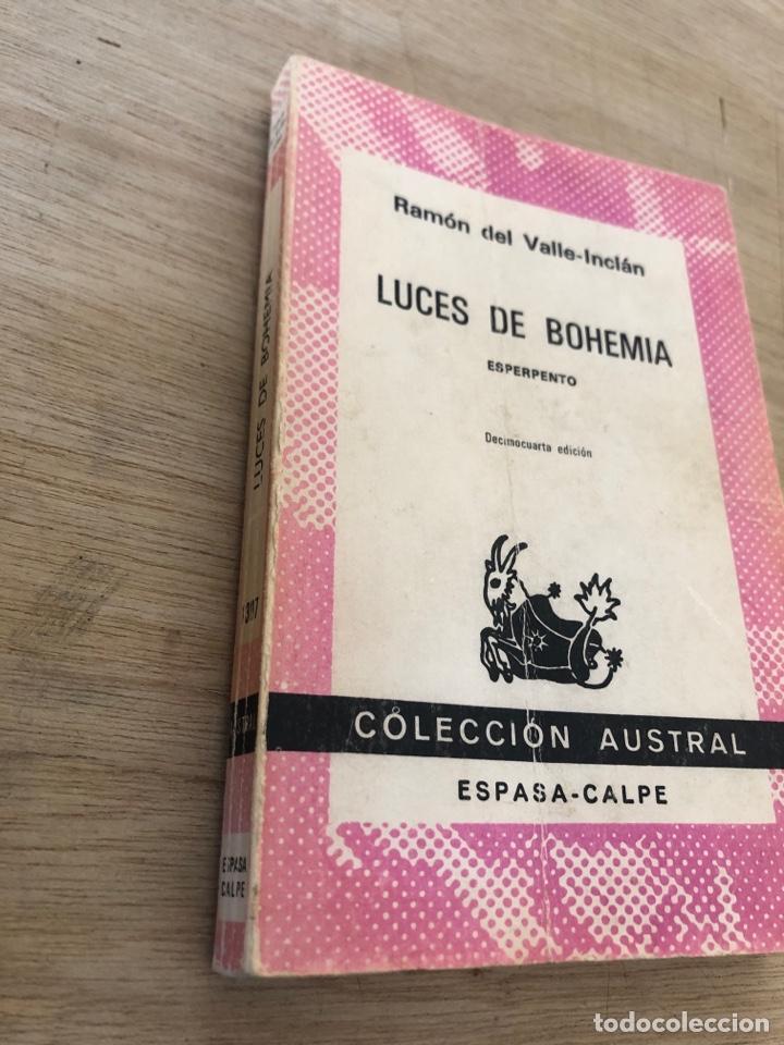 Libros de segunda mano: Luces de bohemia - Foto 2 - 177462692