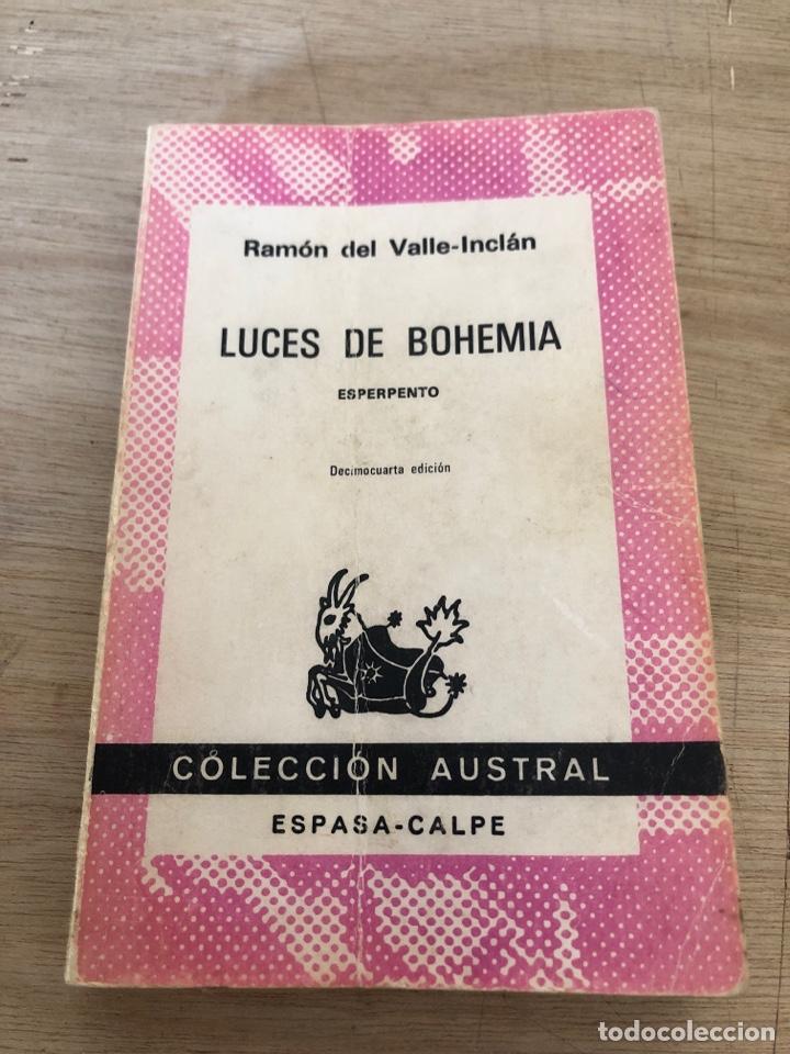 LUCES DE BOHEMIA (Libros de Segunda Mano (posteriores a 1936) - Literatura - Narrativa - Novela Romántica)