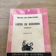 Libros de segunda mano: LUCES DE BOHEMIA. Lote 177462692