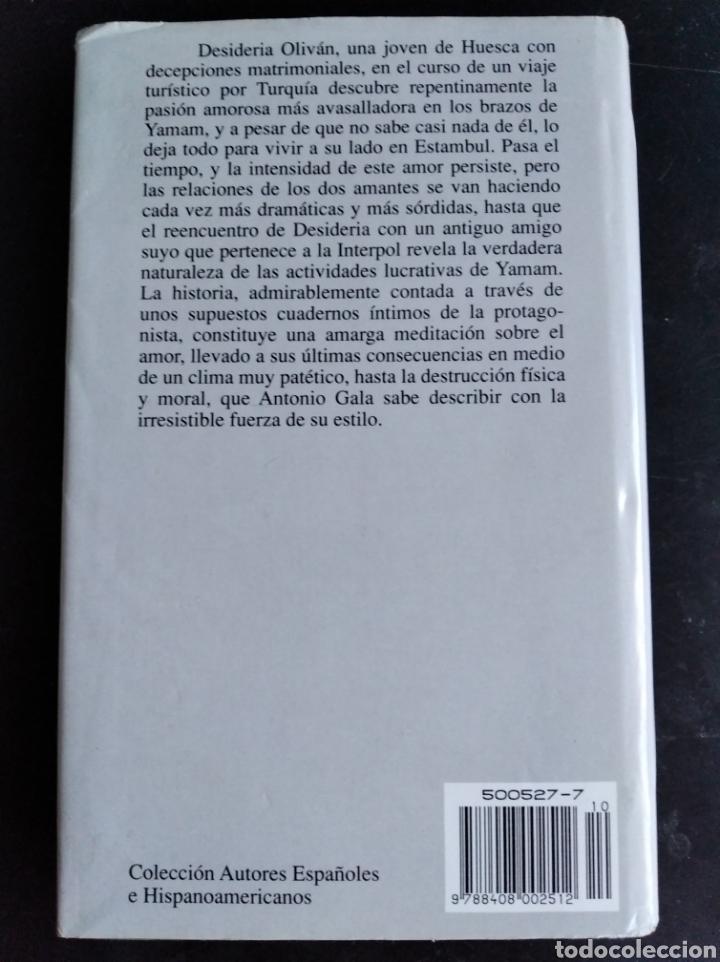 Libros de segunda mano: La pasión turca Antonio Gala - Foto 2 - 177709439