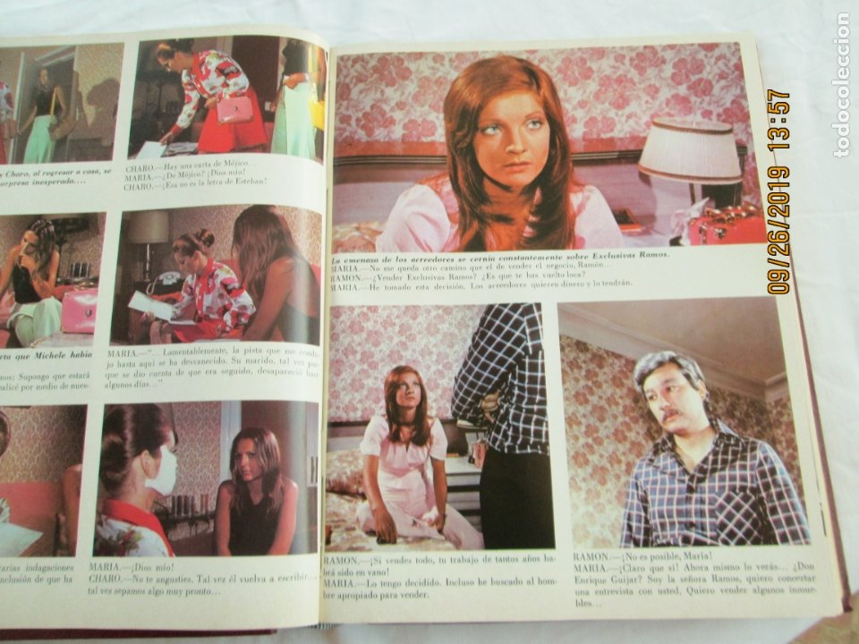 Libros de segunda mano: FOTONOVELA SIMPLEMENTE MARÍA COMPLETA 81 NÚMEROS. 3 TOMOS. AÑOS 70. - Foto 3 - 177815260