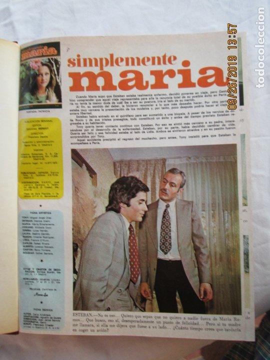 Libros de segunda mano: FOTONOVELA SIMPLEMENTE MARÍA COMPLETA 81 NÚMEROS. 3 TOMOS. AÑOS 70. - Foto 7 - 177815260