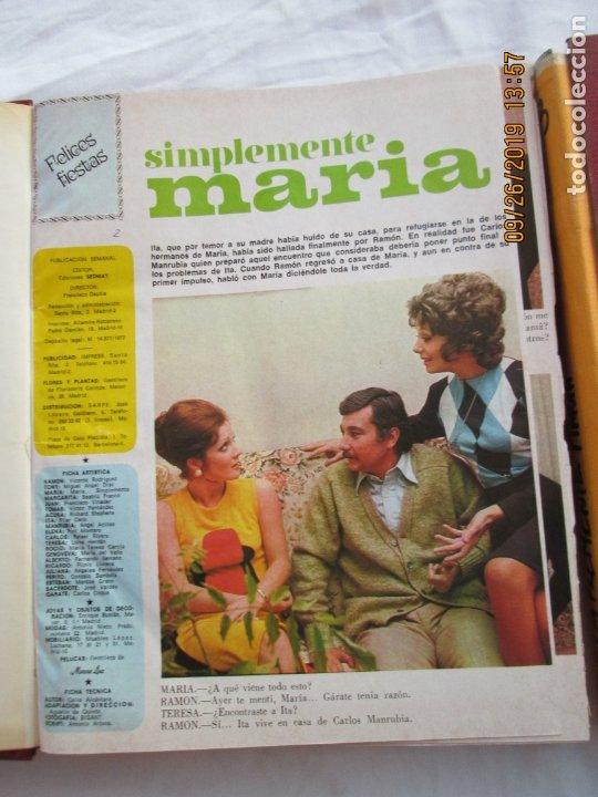 Libros de segunda mano: FOTONOVELA SIMPLEMENTE MARÍA COMPLETA 81 NÚMEROS. 3 TOMOS. AÑOS 70. - Foto 8 - 177815260